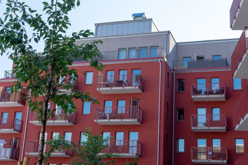 Ännu ett nytt projekt som Kovenda har monterat fasader på i Stockholm!